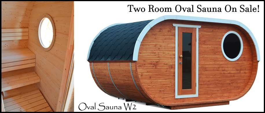 BZBCabins Barrel Sauna
