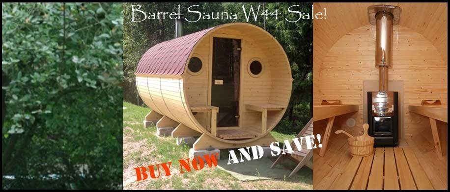 Barrel Sauna Kit W44