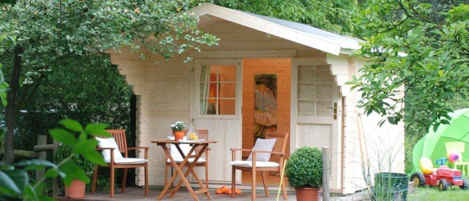 Solid Pine Garden Cabins