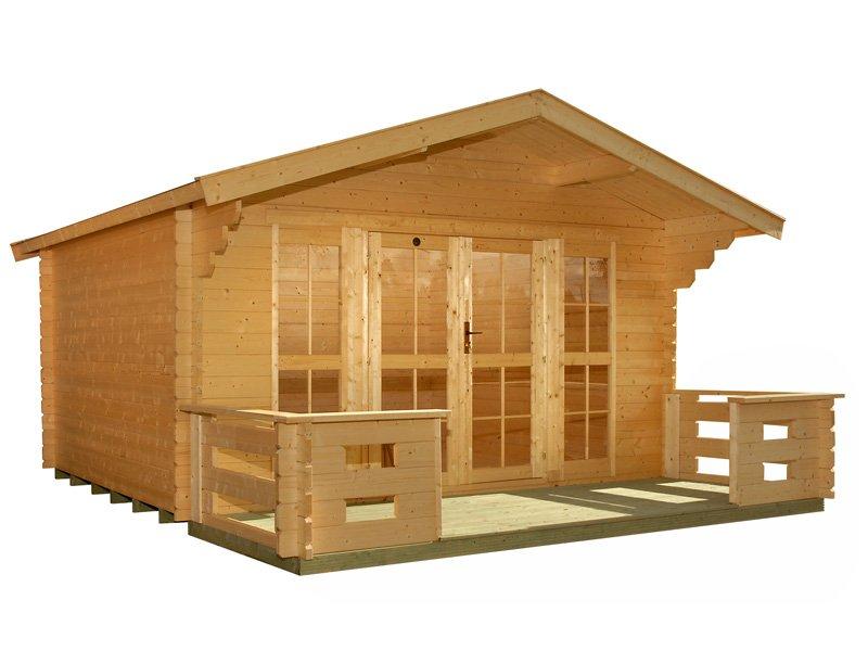Sundeck Prefab Wooden Cabin Kit