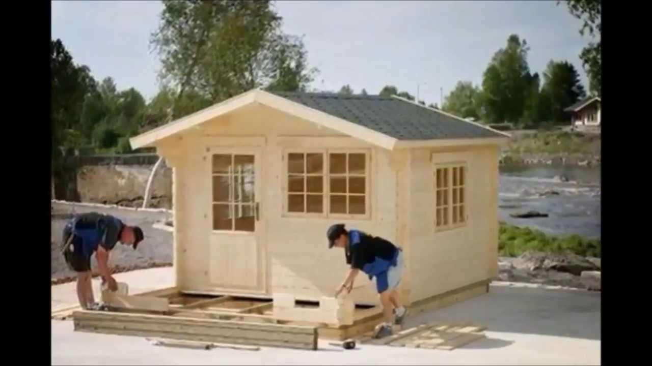Backyard Cottage Prefab Design House Plan Affordable: Prefab Wooden Garden Cabin Installation, Stamford, CT, Www