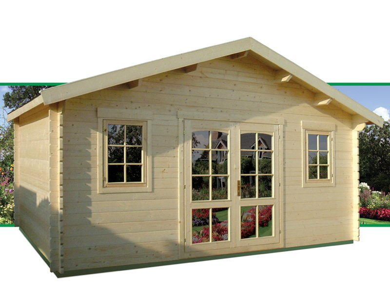 Executive Prefab Wooden Cabin Kit