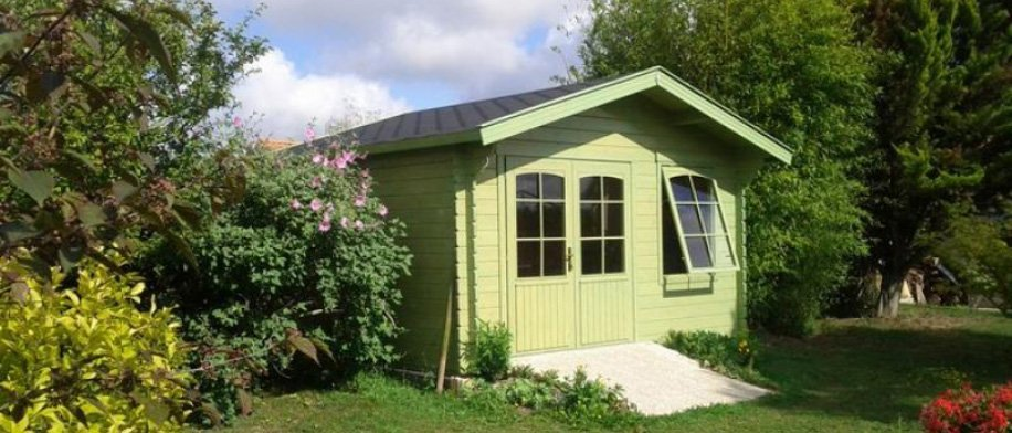 Solid Pine Wood Shed Kit