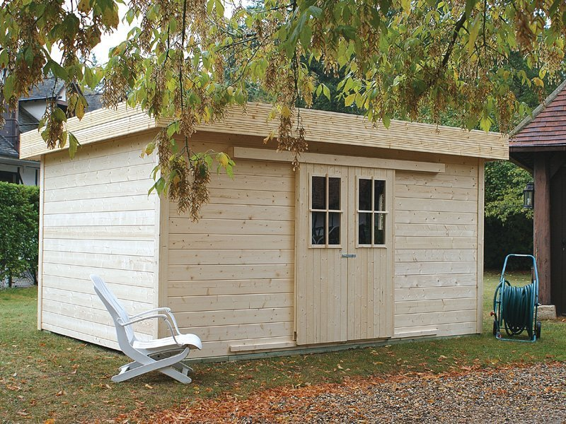 Bzbcabinsandoutdoors wooden shed and cabin kits for Prefab garden sheds