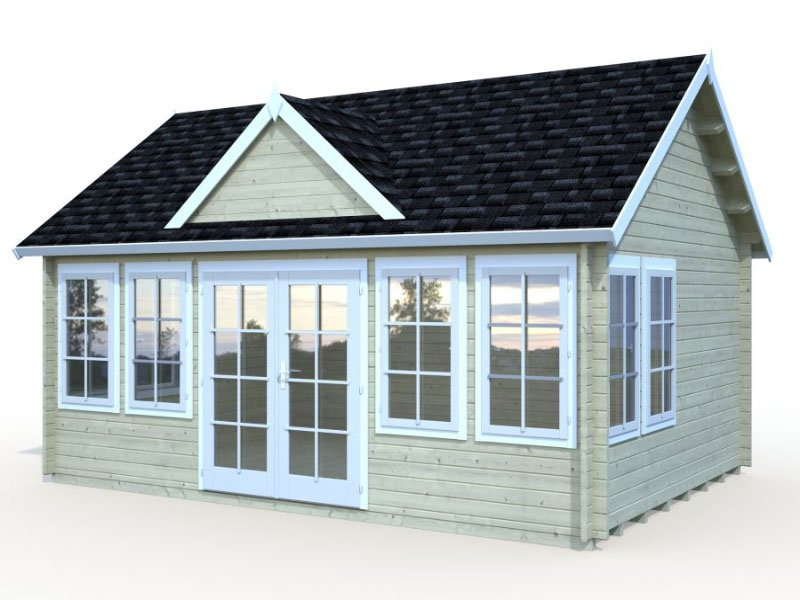 Lakeview Cabin Kit Free Shipping Bzb Cabins And Outdoors