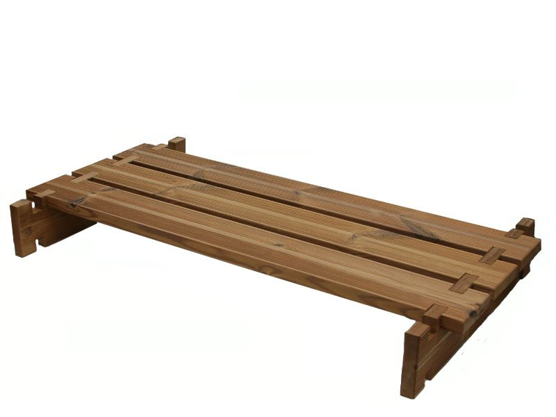 Wooden Bench Kit ~ Planter box bench quot bzb cabins and outdoors