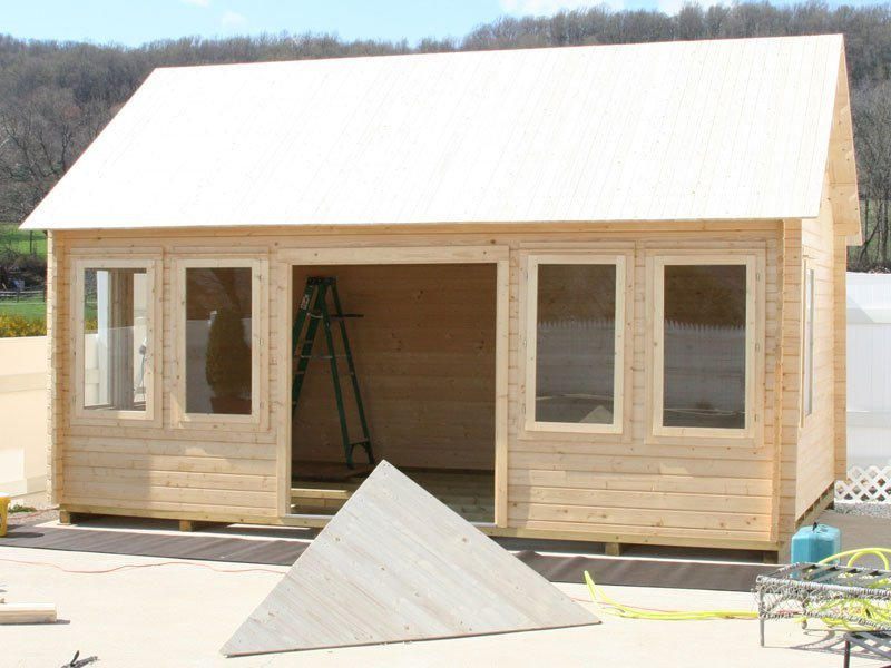 Lakeview Cabin Kit Free Shipping Bzb Cabins