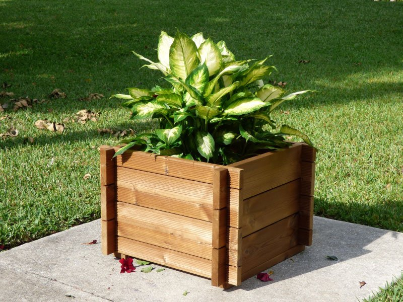 Wooden Planter Box Kits By