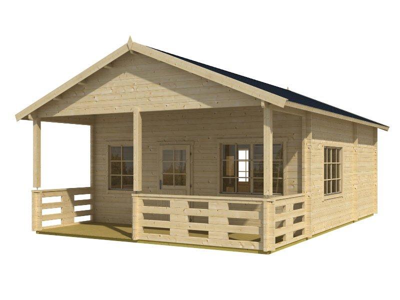 Prefab Wooden Cabin Kit Loft