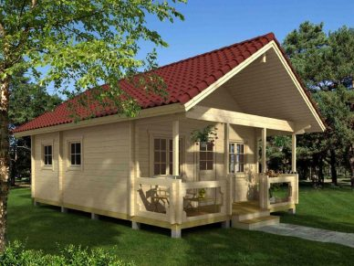 Large Cabin Kits: Over 250 Sq.Ft