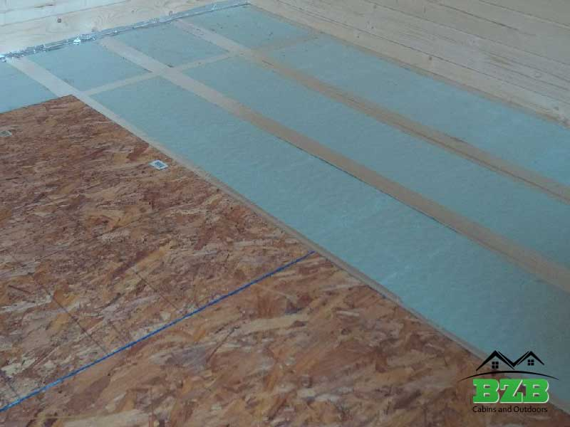 Floor Insulation Option Bzbcabinsandoutdoors