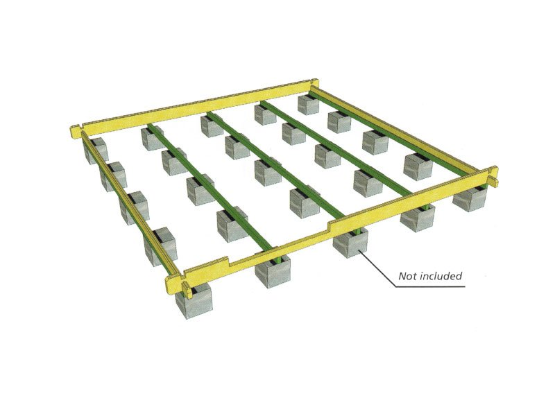 Foundation Cinder Blocks Bzbcabinsandoutdoors