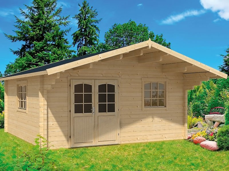 Nordica prefab loft cabin kit for Loft cabin kits