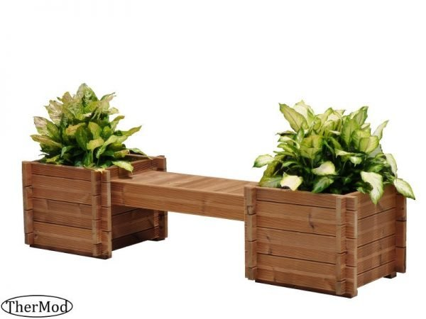 Planter Box Bench Kit Tulip