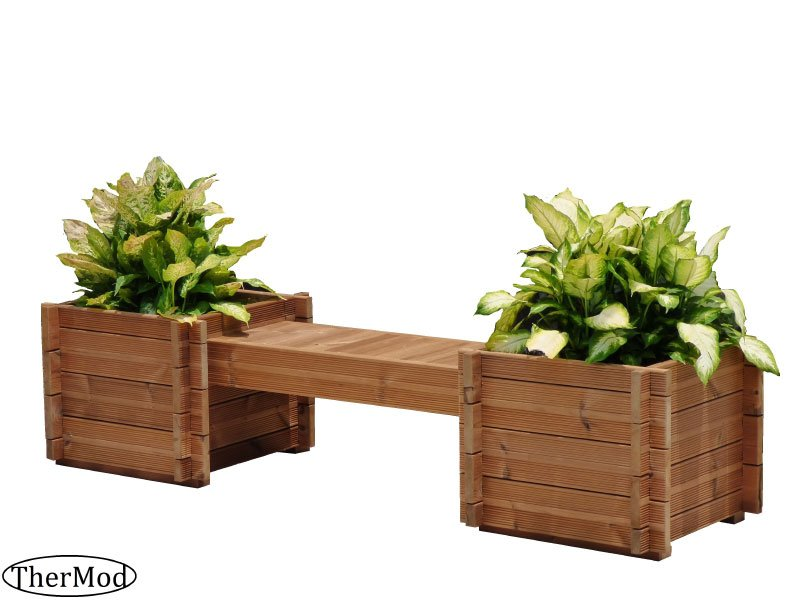 Best Price Wooden Planter Box Bench