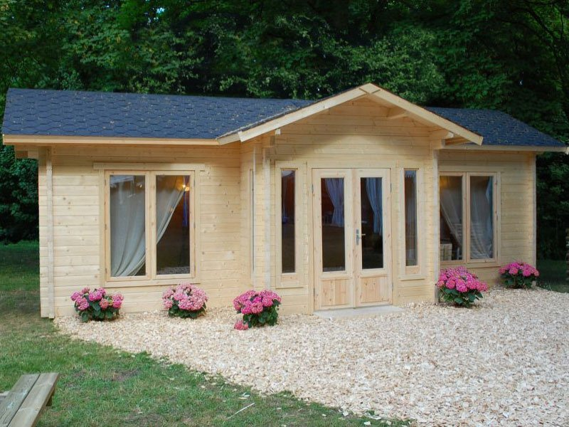 Prefab Small Log Cabin Kits for sale