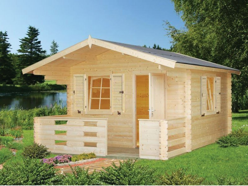 Diy small log cabin kit wooden cabin kits for sale for Casetas de madera para jardin baratas