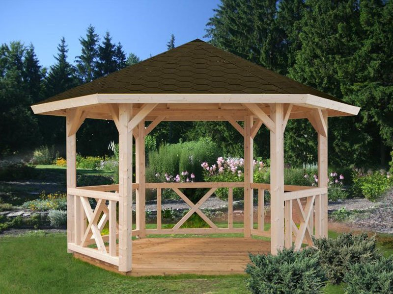 diy gazebo kit alise on sale. Black Bedroom Furniture Sets. Home Design Ideas