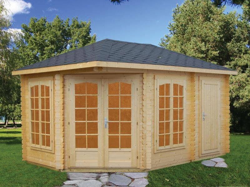 Backyard Pavilion Kit Blackhaw Bzb Cabins
