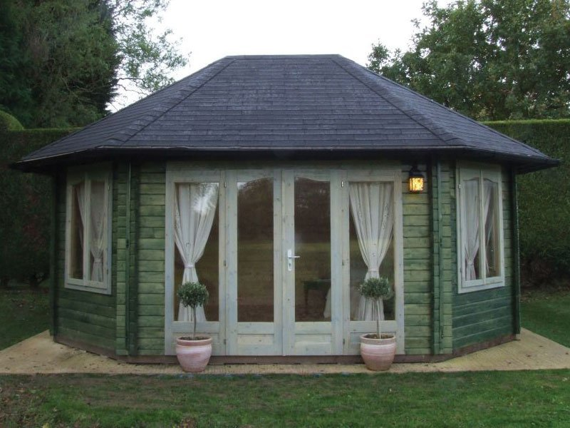 Chestnut Pavilion Kit Bzb Cabins And Outdoors