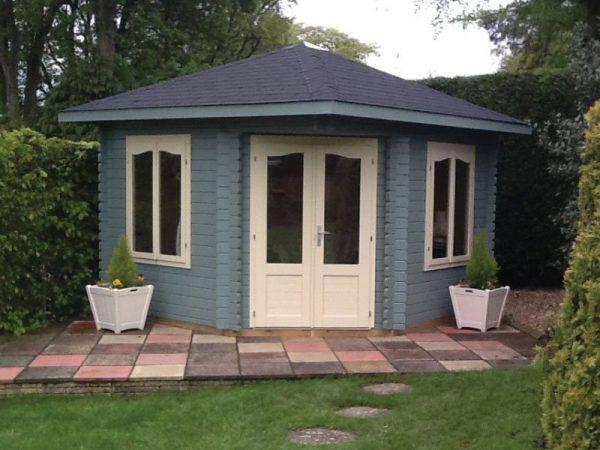 Rosewood Garden Pavilion Assembled