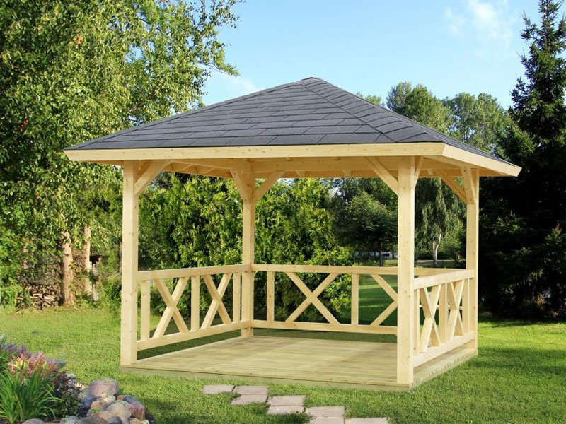 gazebo kit rosie bzbcabinsandoutdoors. Black Bedroom Furniture Sets. Home Design Ideas