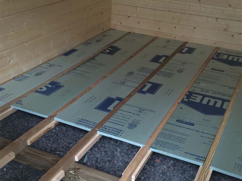 Buyers guide bzbcabinsandoutdoors for Floor joist insulation