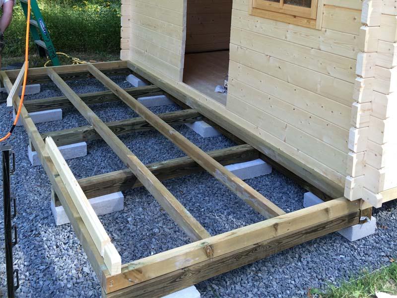 BZB Log Cabin Kit Assembly