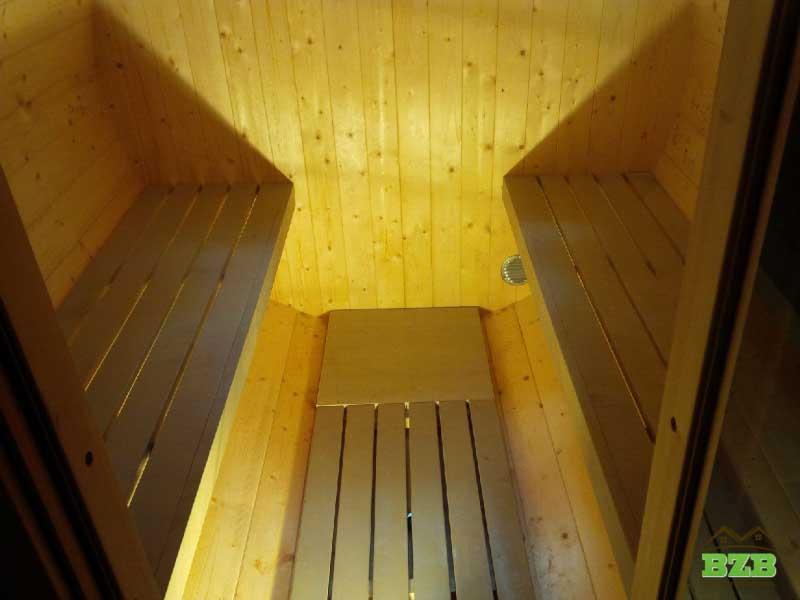 Barrel Sauna Interior Pictures3