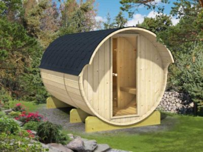 Barrel Sauna W10 and E10