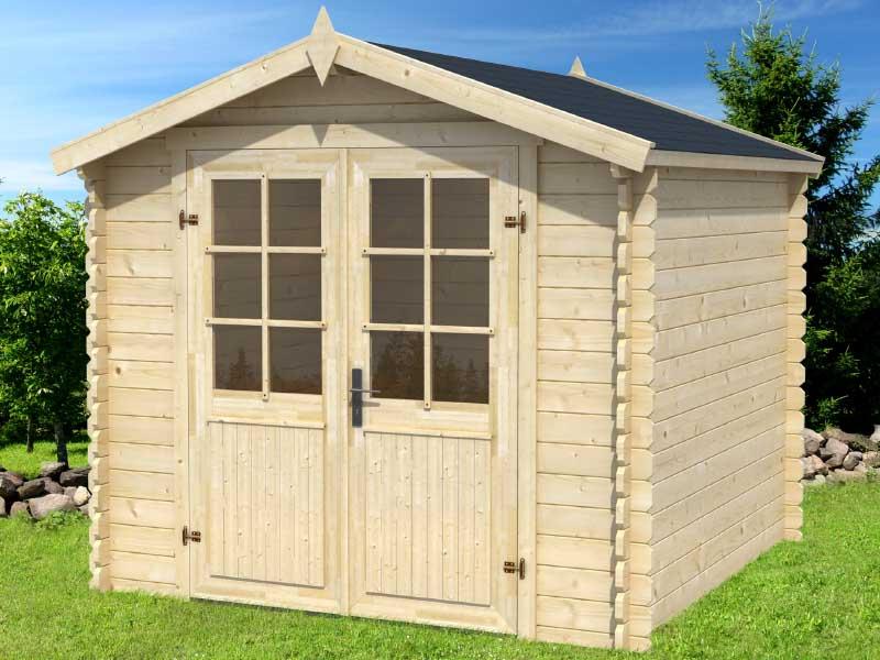 Diy Shelter Kits : Diy solid wood shed kit