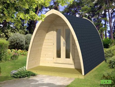Camping Pods & Barrels for Sale | BZB Cabins