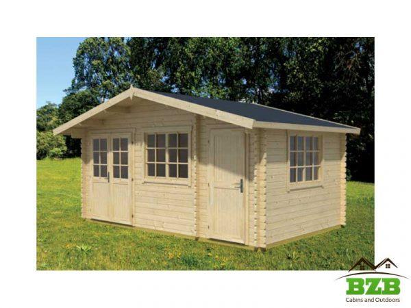 Walnut 1 Log Cabin Kit