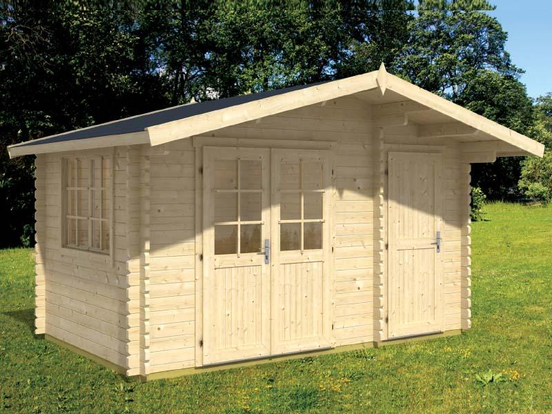 Home / Shop / Cabins / Midsize: 151-250 Sq.ft. / Walnut 5 Cabin Kit