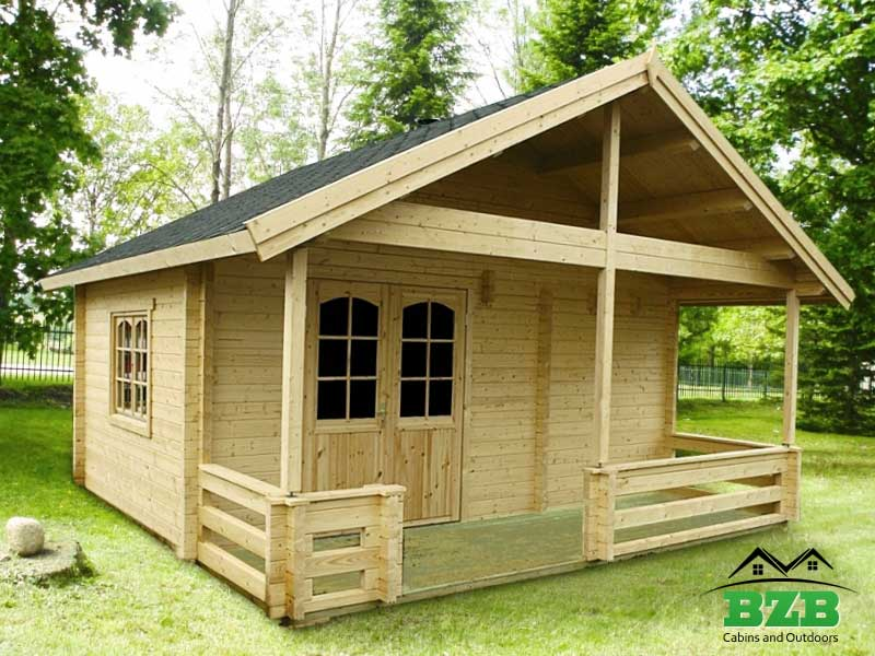 Wooden garden cabin kit hunting cabin camping cabin for Camping cabin kits