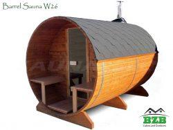 Barrel Sauna 26