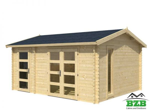 Boulder Log Cabin Kit