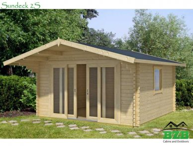 Log Cabin Kit Sundeck2S