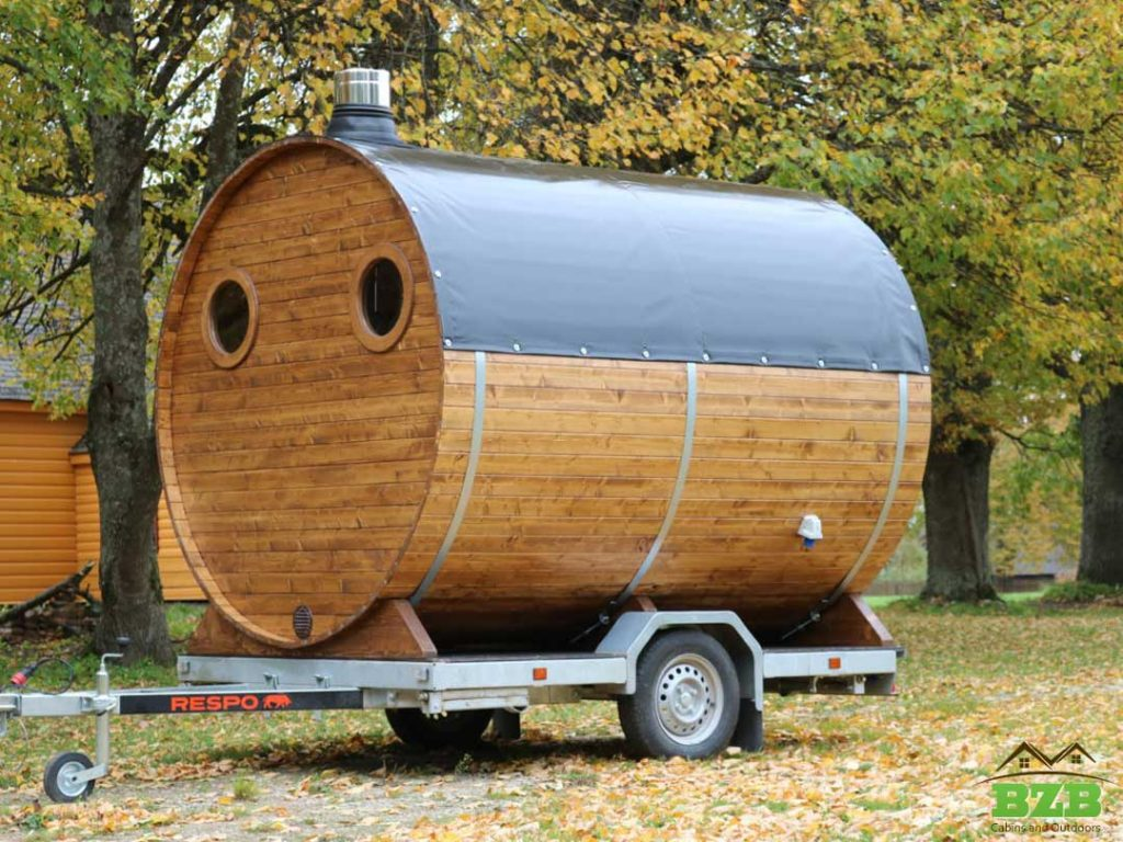 Barrel-Sauna-On-The-Trailer