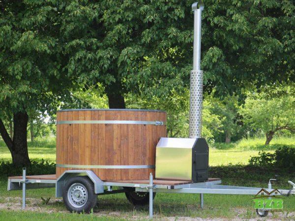Hot tub on wheels