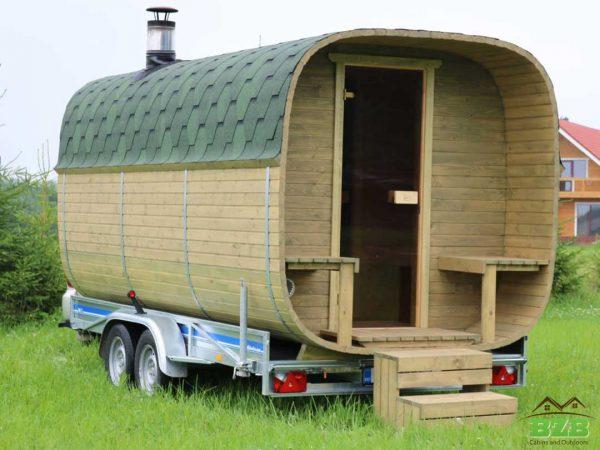 Sauna trailers and mobile saunas