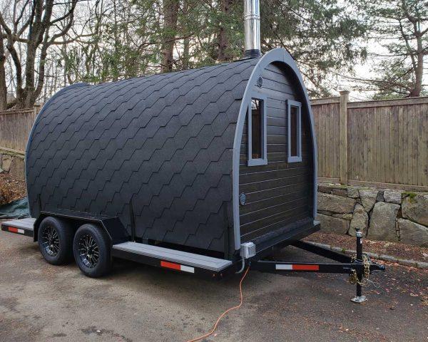 Igloo 40 sauna on wheels