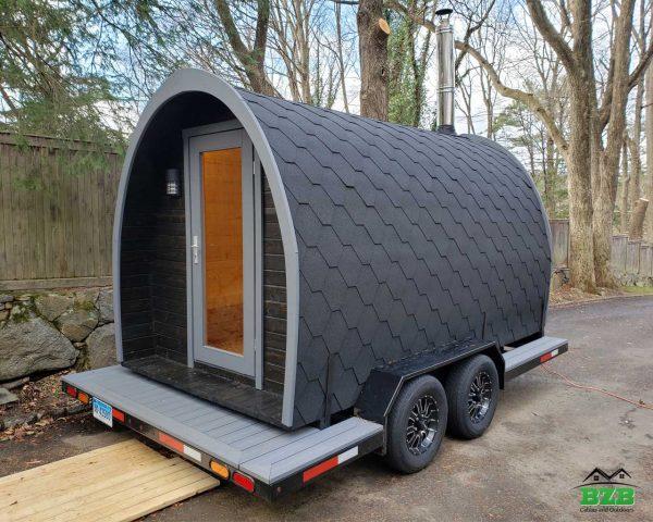 Igloo 40 sauna trailer