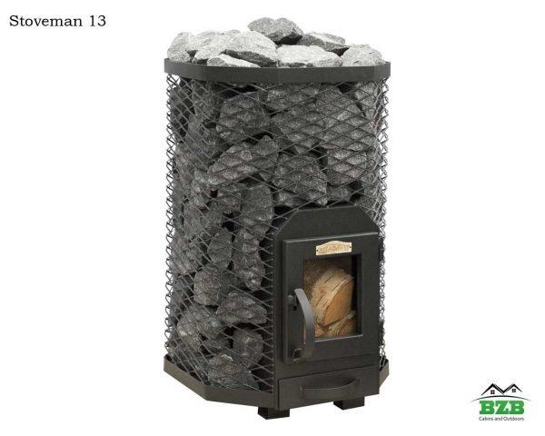 Wood burning sauna stove Stoveman13