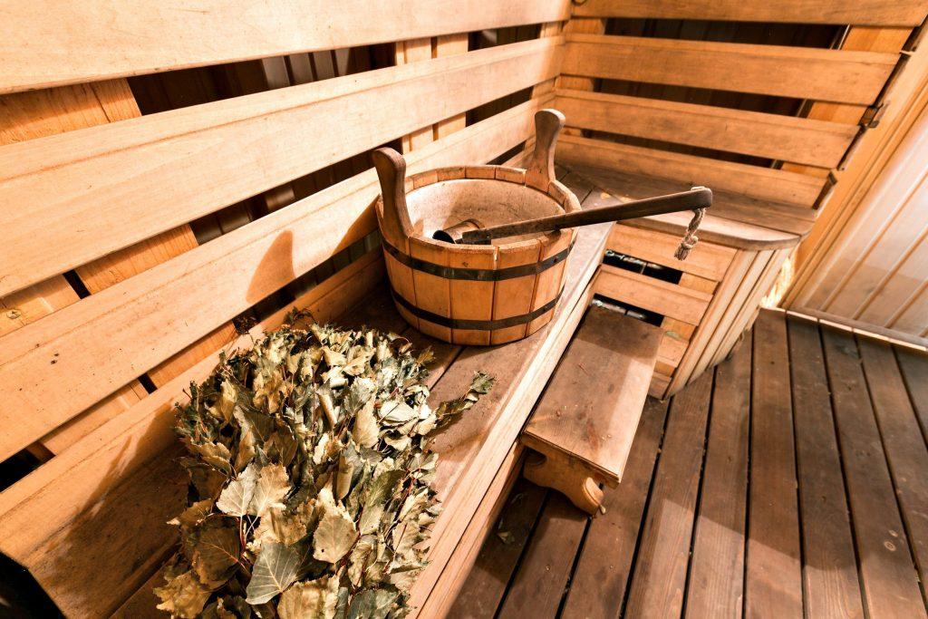 Simple Finnish sauna