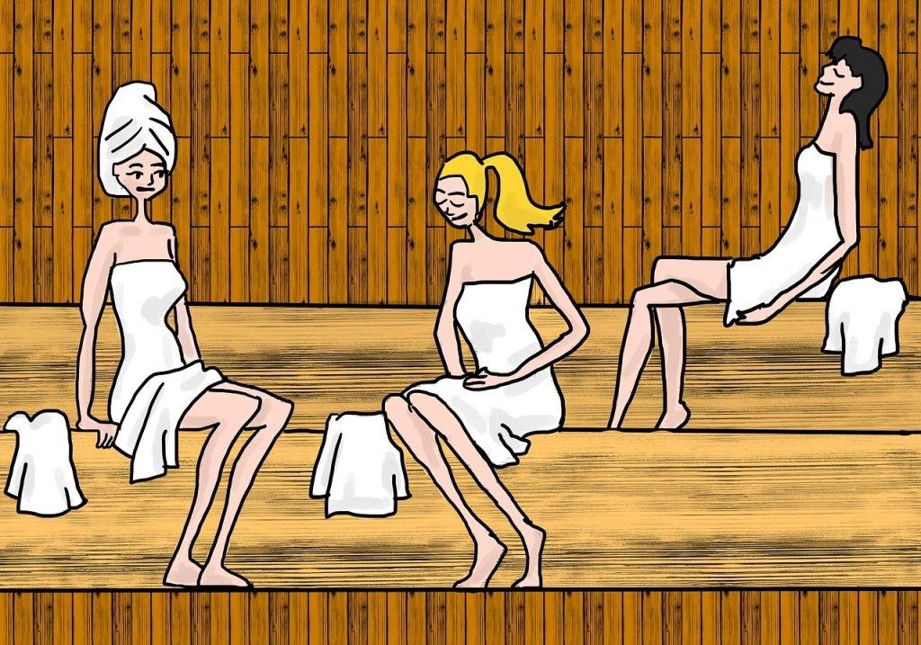 Sauna behaviour