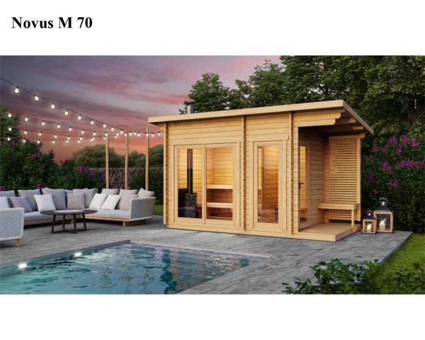 Sauna cabin kit novus M 70