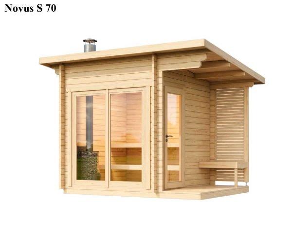 Sauna cabin kit novus XS 40