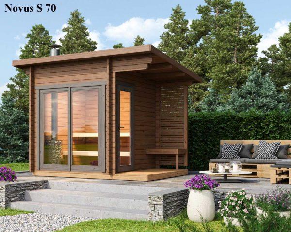Sauna cabin kit novus S70