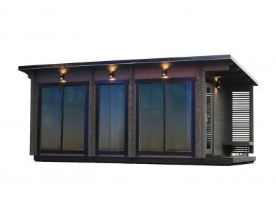 Luxury outdoor sauna kit Novus Lux
